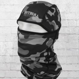 Pit Bull West Balaclava Soft schwarz camouflage