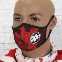 Pit Bull West Coast F**k the World Tube Schal schwarz Pitbull Westcoast Maske