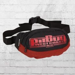 Pit Bull West Coast Gürteltasche Boxing schwarz