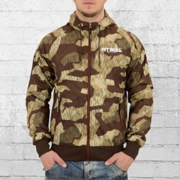 Pit Bull West Coast Herren Jacke Athletic 7 Camo braun