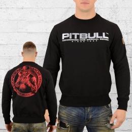 Pit Bull West Coast Herren Sweatshirt Boxer schwarz