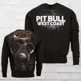 Pit Bull West Coast Herren Sweatshirt F**k The World schwarz