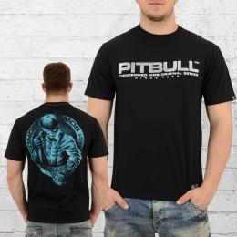 Pit Bull West Coast Herren T-Shirt Cutler schwarz