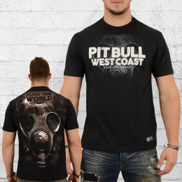 Pit Bull West Coast Herren T-Shirt Fuck the World 18 schwarz