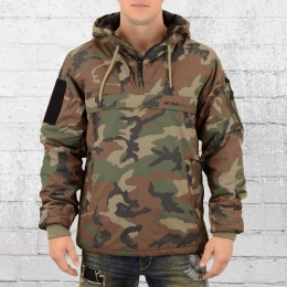 Pit Bull West Coast Herren Windbreaker Sherman camo
