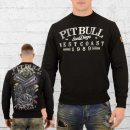 Pit Bull West Coast Männer Pullover Player schwarz