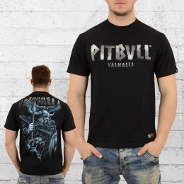 Pit Bull West Coast Männer T-Shirt Odin schwarz