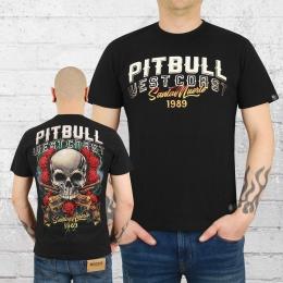 Pit Bull West Coast Männer T-Shirt Santa Muerte schwarz
