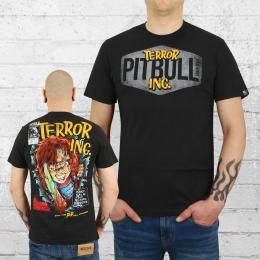 Pit Bull West Coast Männer T-Shirt Scare schwarz