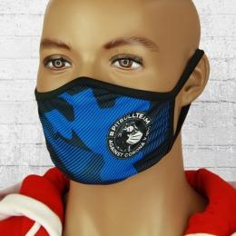 Pit Bull West Coast Maske Fight Against royal blau camo