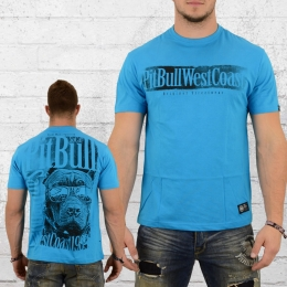 Pit Bull West Coast T-Shirt Herren Sunlight blau
