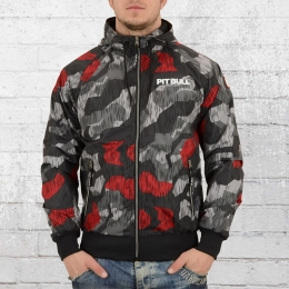 Pit Bull West Coast Windjacke Athletic 7 Camo schwarz rot