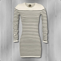 All About Eve Strick Kleid Prudence creme weiss