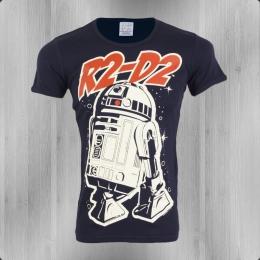 Logoshirt T-Shirt Herren Star Wars R2-D2 navy
