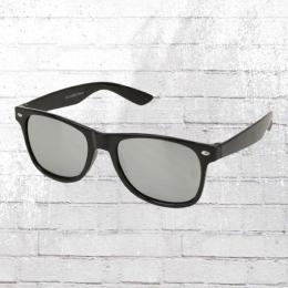 Viper Sonnenbrille schwarz silber