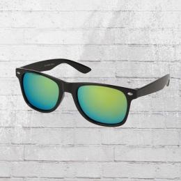 Viper Sonnenbrille schwarz türkis