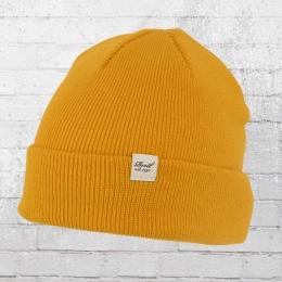 Reell Beanie Basic Winter Mütze gelb