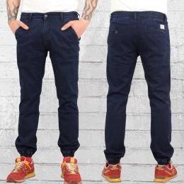 Reell Denim Herren Hose Jogger Pant Jeans dunkel blau