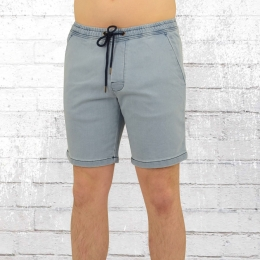 Reell Herren Short Easy Denim hellblau