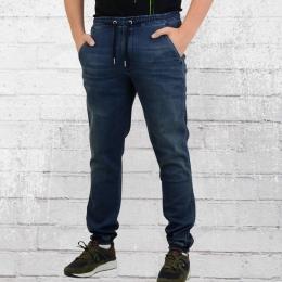 Reell Männer Jeans Jogger Hose Reflex blau