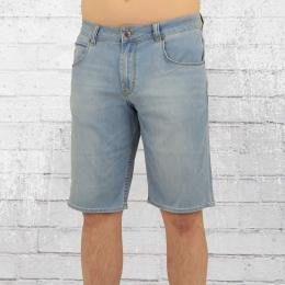 Reell Männer Jeans Short Rafter 2 hellblau