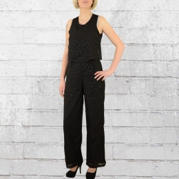 Religion Clothing Damen Overall Enchantment Jumpsuit schwarz