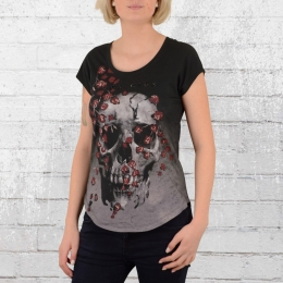 Religion Clothing Damen T-Shirt Dark grau schwarz