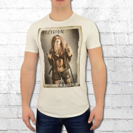 Religion Clothing Herren T-Shirt Get In Line weiss
