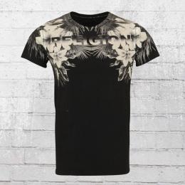 Religion Clothing Herren T-Shirt Hawaii schwarz