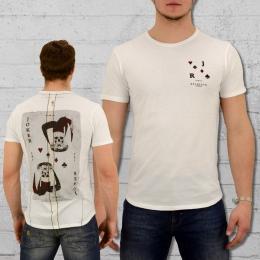 Religion Clothing Herren T-Shirt Joker Card weiss