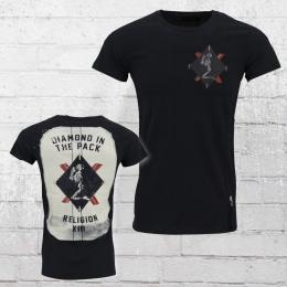Religion Clothing Herren T-Shirt Z Card schwarz