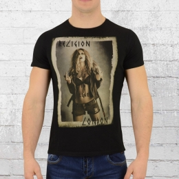 Religion Clothing Mens Get In Line Tee Shirt black