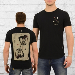 Religion Clothing Männer T-Shirt Joker Card schwarz