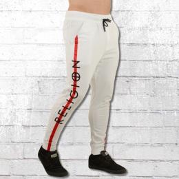 Religion Clothing Retro Pant Jogging-Hose weiss