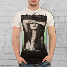 Religion Clothing Männer T-Shirt Wasted weiss grün