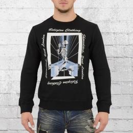 Religion Herren Pullover Tron Sweater schwarz