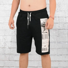 Religion Herren Sweat Patch Shorts schwarz