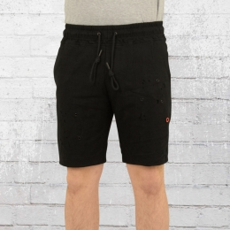 Religion Herren Sweat Short Cassins schwarz