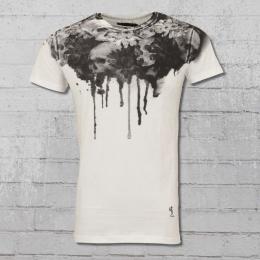 Religion Herren T-Shirt Sun Flower weiss
