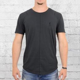 Religion Herren T-Shirt Wick Scarstitch dunkel grau