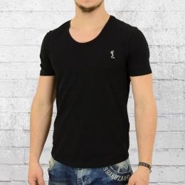 Religion Männer Basic T-Shirt Fast schwarz