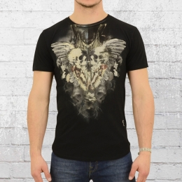Religion Männer T-Shirt Gemini schwarz