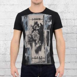 Religion Männer T-Shirt X Born XBF 15 schwarz