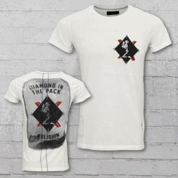 Religion Männer T-Shirt Z Card weiss