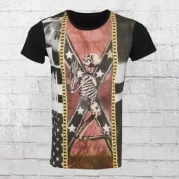 Religion T-Shirt Herren Bount BUF 15 schwarz