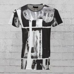 Religion T-Shirt Herren RLGN RLF 47A weiss schwarz