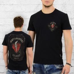 Religion T-Shirt Männer Heartbreakers schwarz
