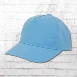 Result 5 Panel Kids Baseball Cap light blue