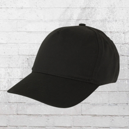 Result 5 Panel Kinder Baseball Cap schwarz