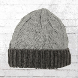 Result Strickmütze Shades of Grey Beanie grau